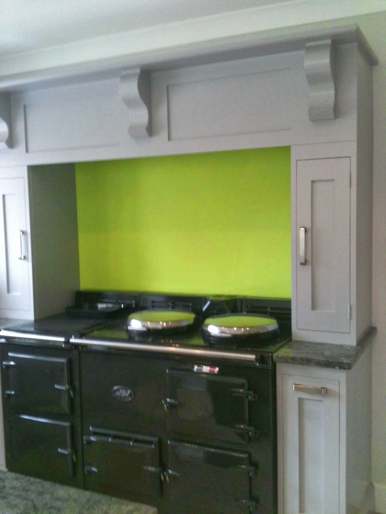Kitchen units installation and painting, Effingham