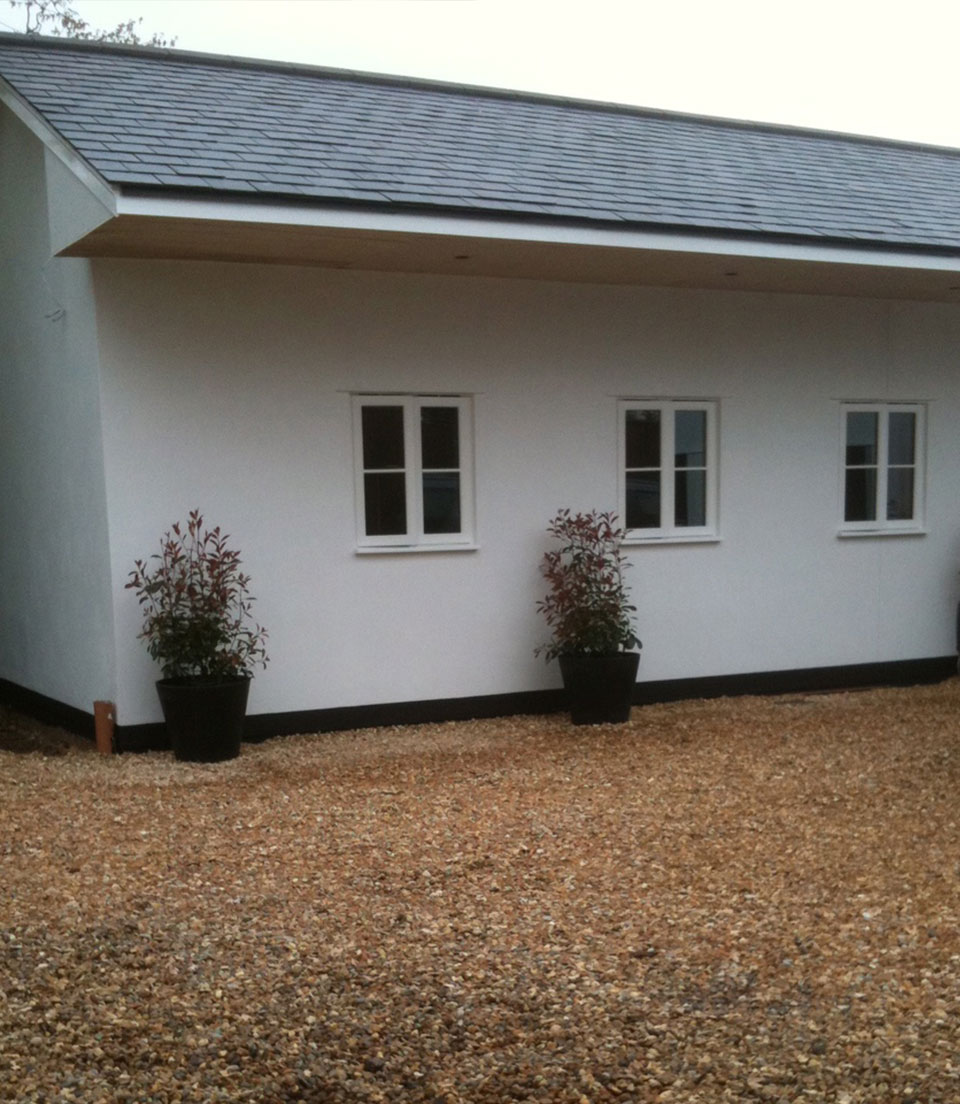 Exterior house painting, Sunningdale (after)