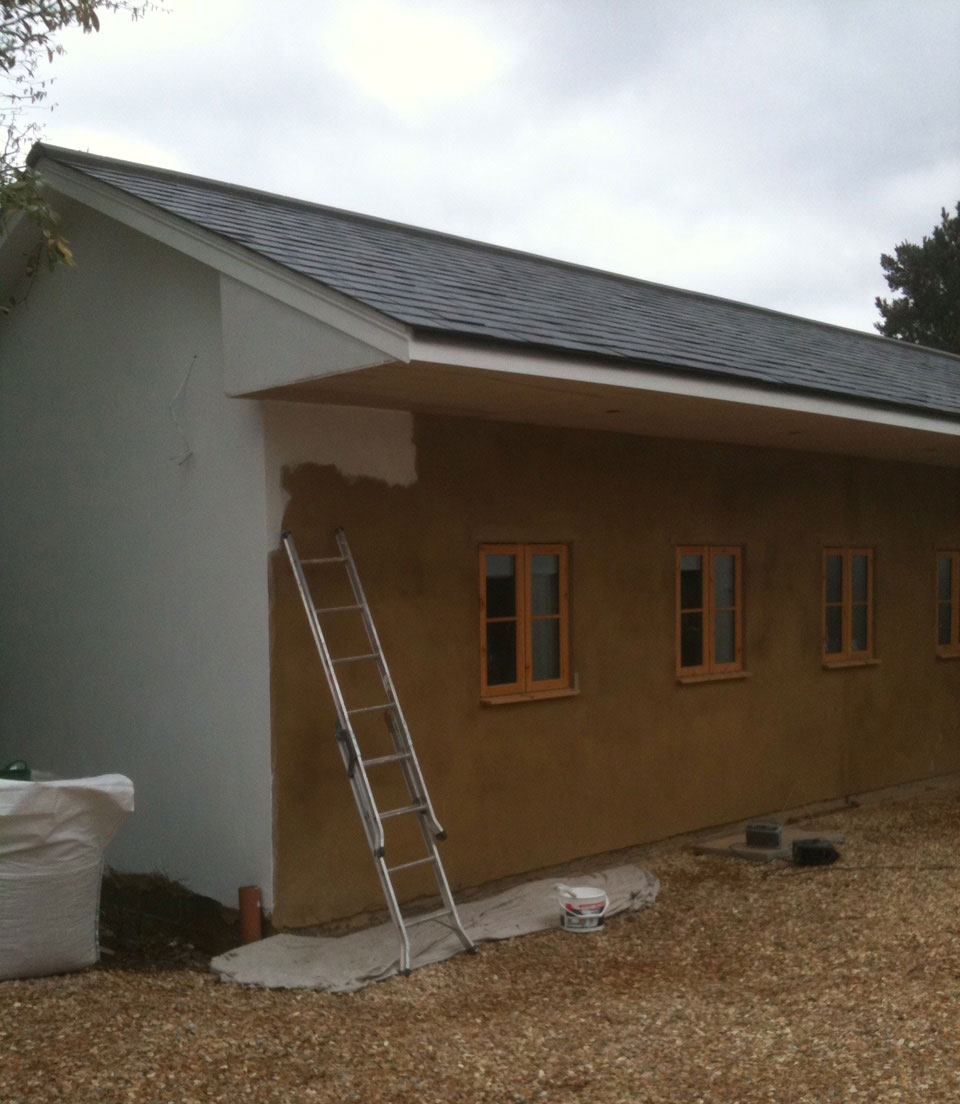 Exterior house painting, Sunningdale (before)