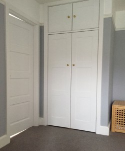 Interior painting of doors and trim