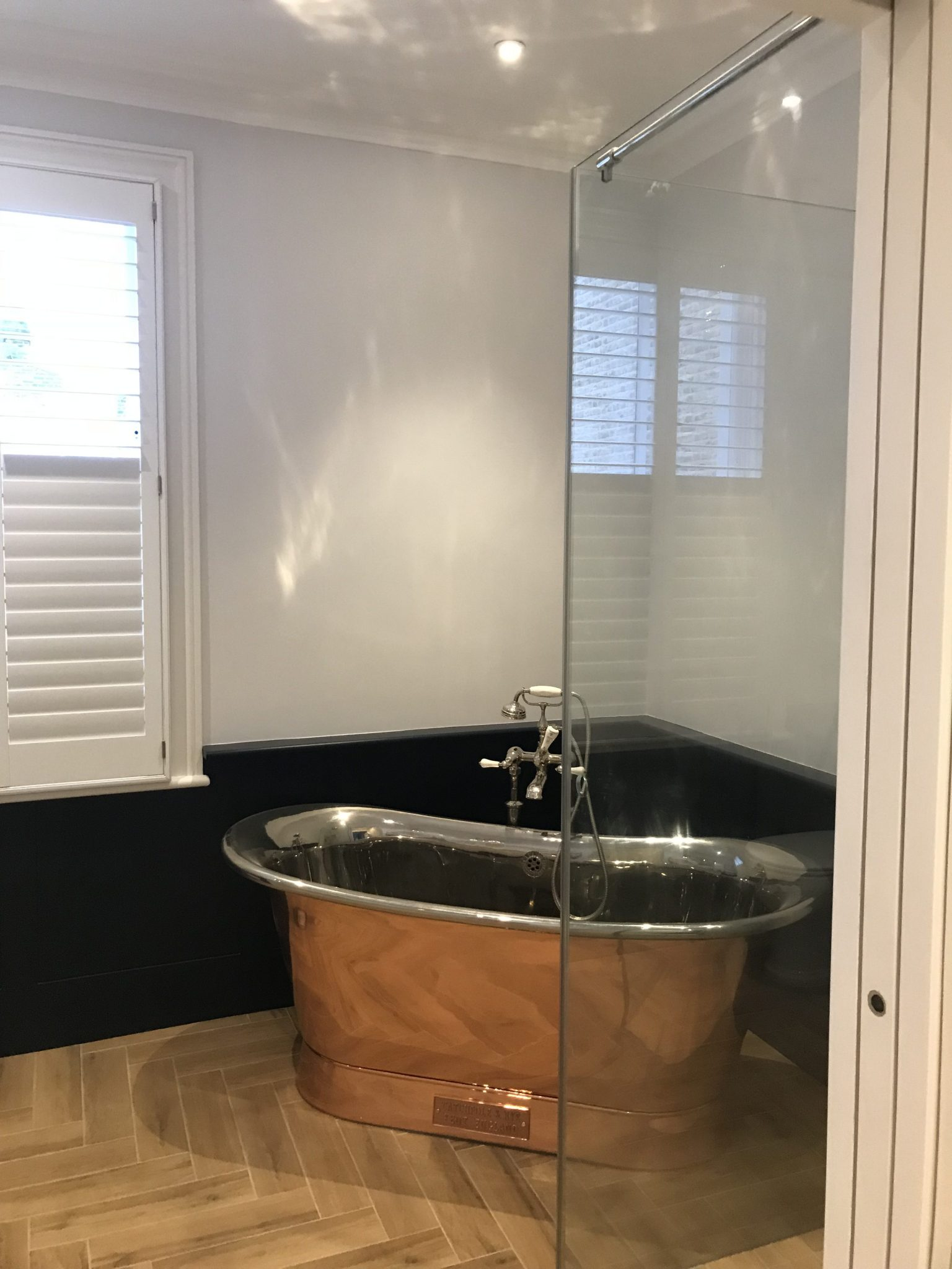 Bathroom remodel: after
